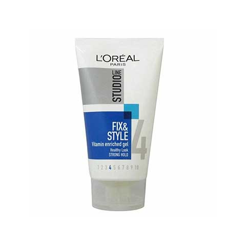 L'oreal Studio Line Fix & Style Vitamin Enriched Gel 150ml - Strong Hold