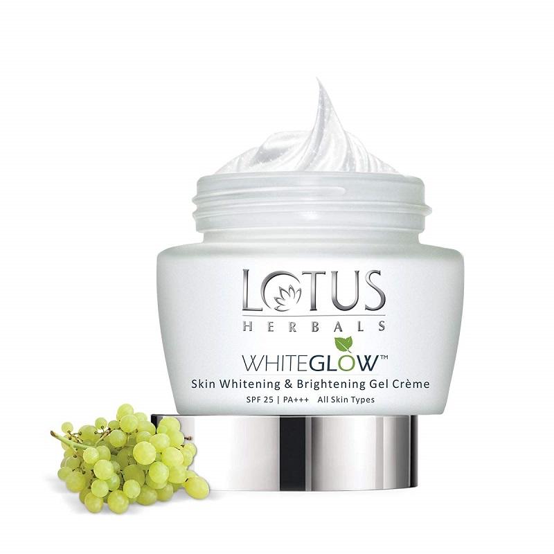 Lotus Herbals White Glow Gel Cream 60g - SPF 25 PA+++