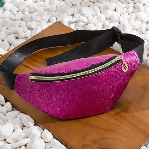 Lychee Pattern Waist Bag