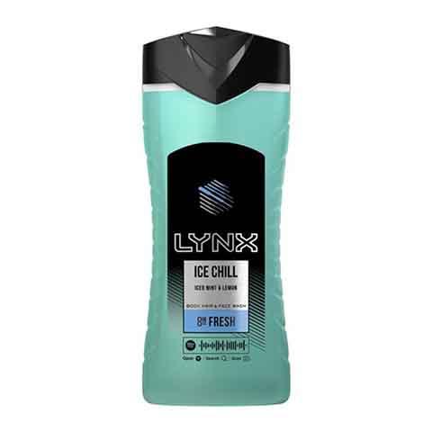 Lynx Ice Chill Body Hair & Face Wash 250ml