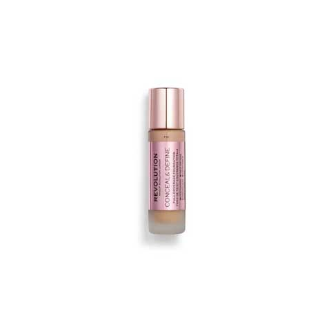 Makeup Revolution Conceal & Define Full Coverage Foundation 23g - F10