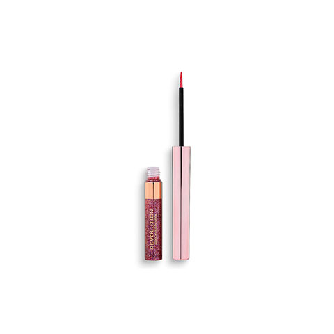 Makeup Revolution Glitter Eyeliner - Rose Quartz
