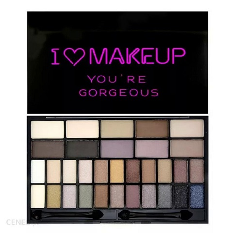 Makeup Revolution I Heart Makeup You're Gorgeous Eye Shadow Palette 24g