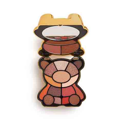 Makeup Revolution I Heart Revolution Teddy Bear Eyeshadow Palette - Honey