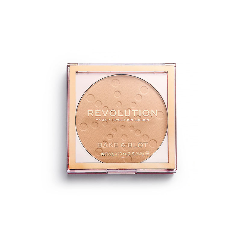 Makeup Revolution London Bake & Blot Pressed Powder - Beige