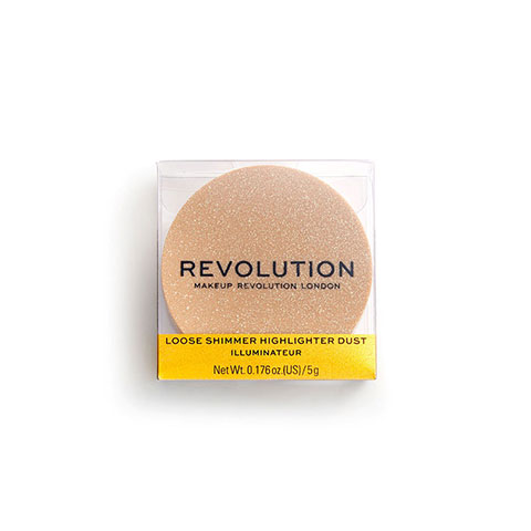 Makeup Revolution Loose Shimmer Highlighter 5g - Rose Quartz