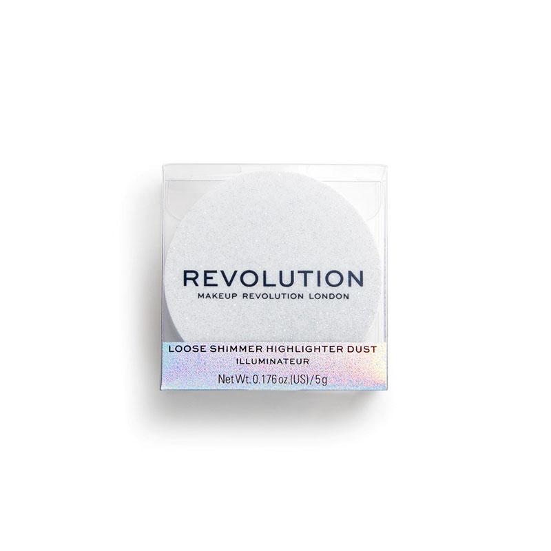 Makeup Revolution Loose Shimmer Highlighter - Iced Diamond