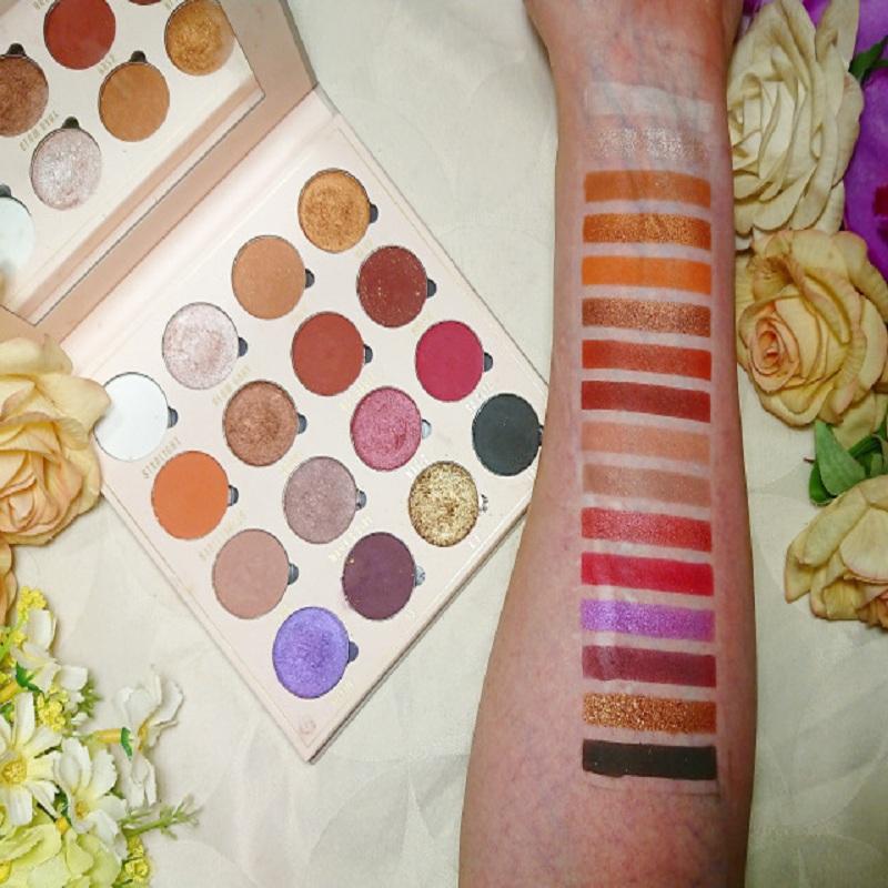 Makeup Revolution Obsession Eyesahdow Palette - Belle Jorden