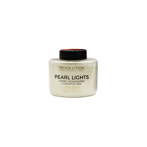 Makeup Revolution Pearl Lights Loose Highlighter 35g - True Gold
