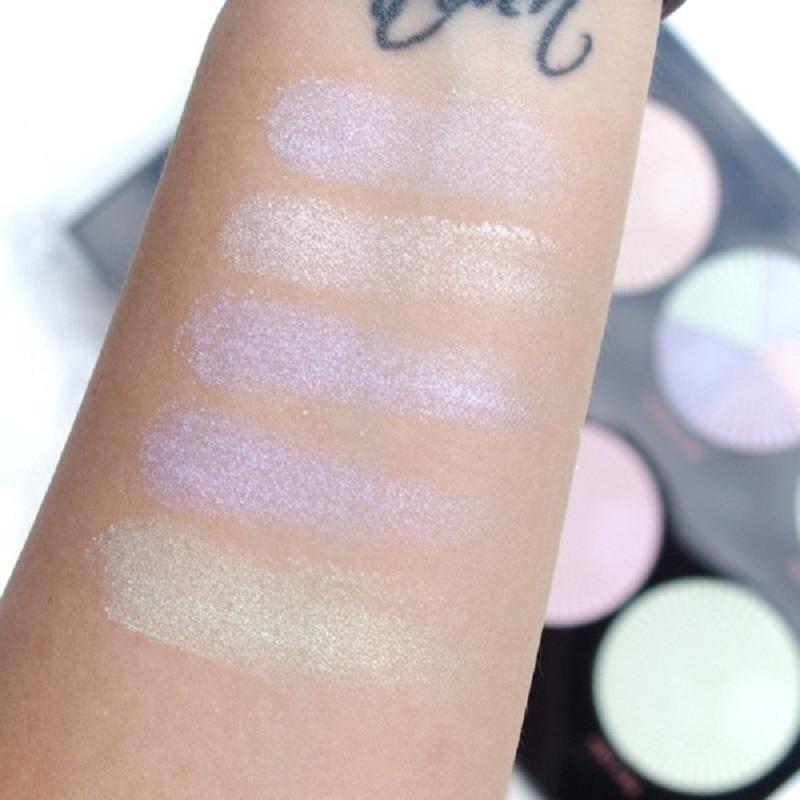 Makeup Revolution Pro HD Amplified Highlighter Palette - Glow Getter