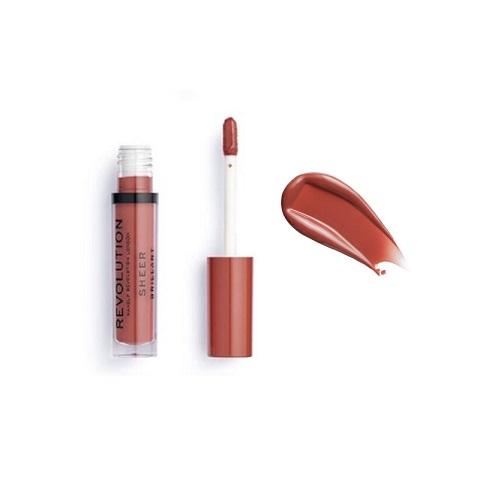 Makeup Revolution Sheer Brilliant Lip Gloss 3.5ml - Fling 125