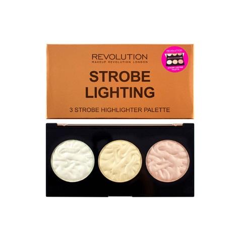 Makeup Revolution Strobe Lighting 3 Strobe Highlighter Palette