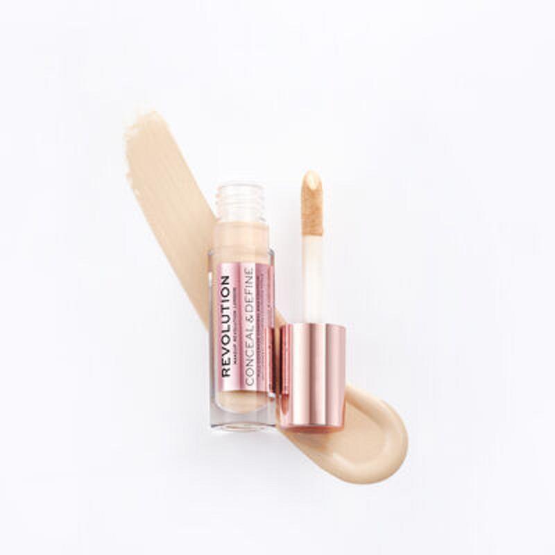 Makeup Revolution Supersize Conceal & Define Full Coverage Concealer 13g - C6.5