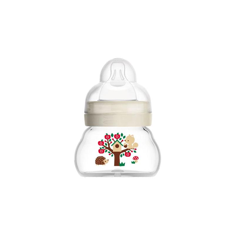 MAM Feel Good Extra Small Glass Baby Bottle 90ml - 0m (7819)