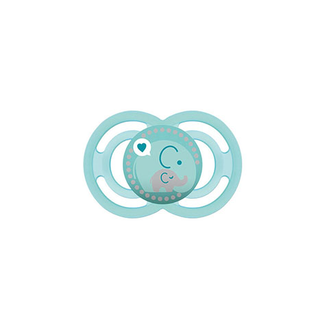 MAM Perfect Silicone Soother With Steriliser Box 6m+ - Paste