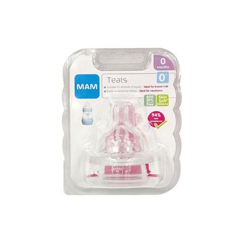 MAM Teats Newborns 0m - 2pk