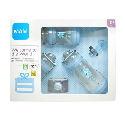Mam Welcome To The World 0+ m Gift Set - Blue