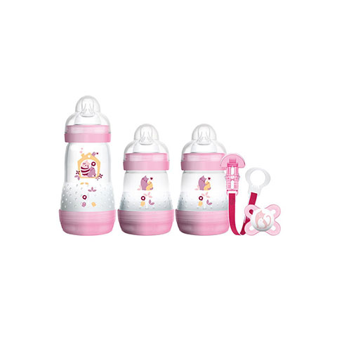 Mam Welcome To The World 0+ m Gift Set - Pink