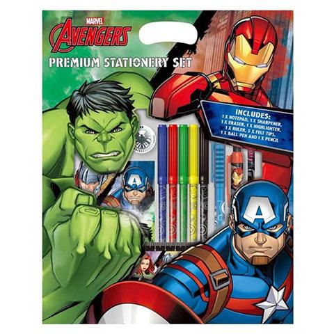 Marvel Avengers Premium Stationery Set