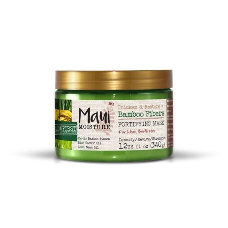 Maui Moisture Thicken & Restore Bamboo Fibers Fortifying Hair Mask 340g