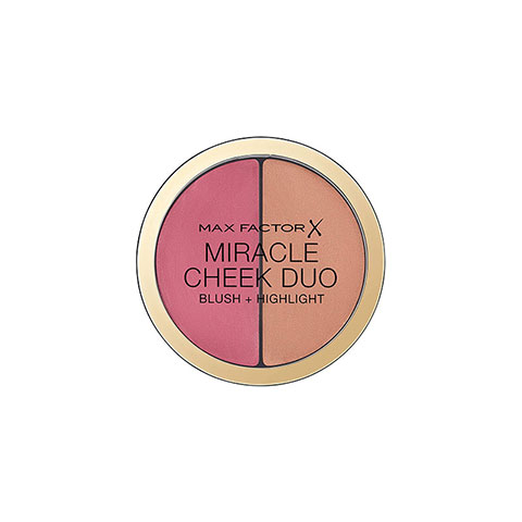 Max Factor Miracle Cheek Duo Blush+Highlight - 30 Dusky Pink & Copper