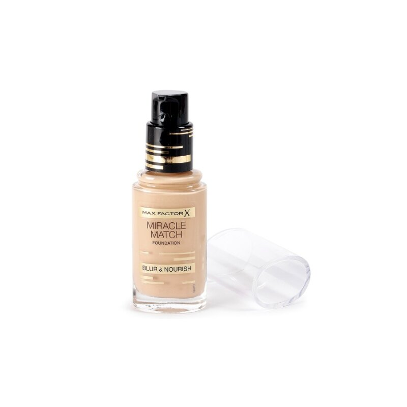 Max Factor Miracle Match Blur & Nourish Foundation - Nude 47
