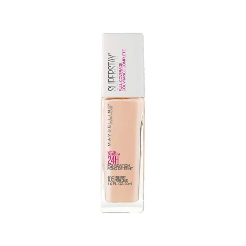 Maybelline Super Stay Full Coverage Foundation 30ml - 105 Fair Ivory