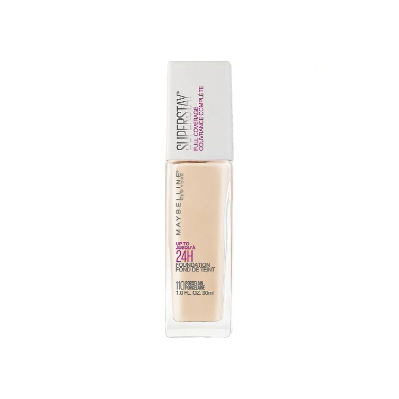 Maybelline Super Stay Full Coverage Foundation 30ml - 110 Porcleain