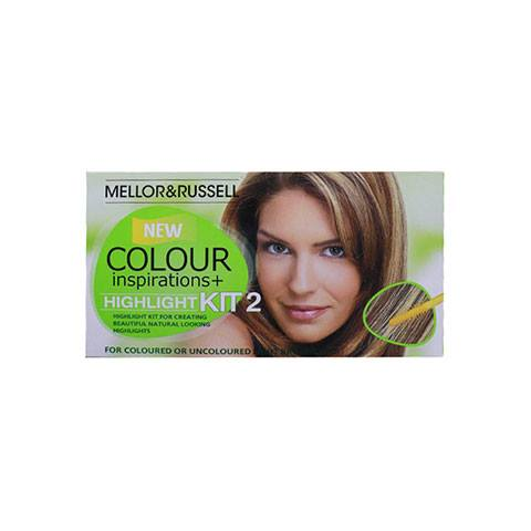 Mellor & Russell Colour Inspirations & Highlight For - Medium Blonde Hair Colour Kit 2