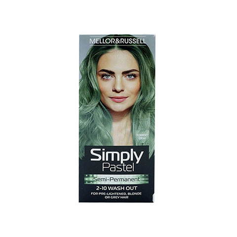Mellor & Russell Simply Pastel Semi - Permanent Hair Colour - Forest Dew