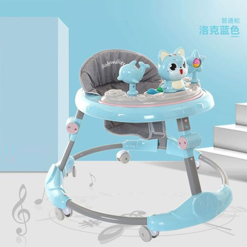 Mengbao  Early Learning Walker Music Toy - Blue