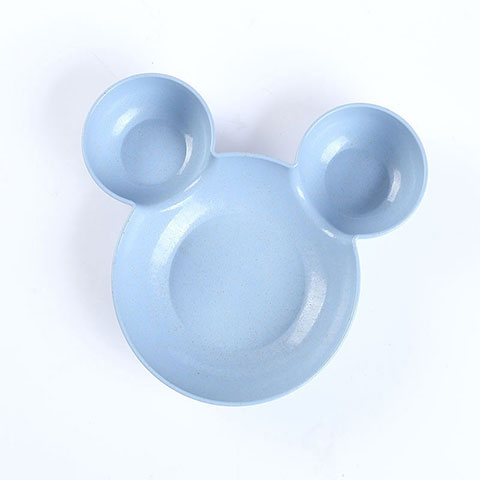 Mickey Cartoon Children Rice Bowl - Blue