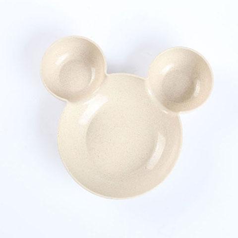 Mickey Cartoon Children Rice Bowl - Brown