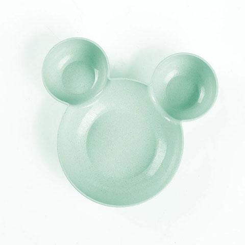 Mickey Cartoon Children Rice Bowl - Green