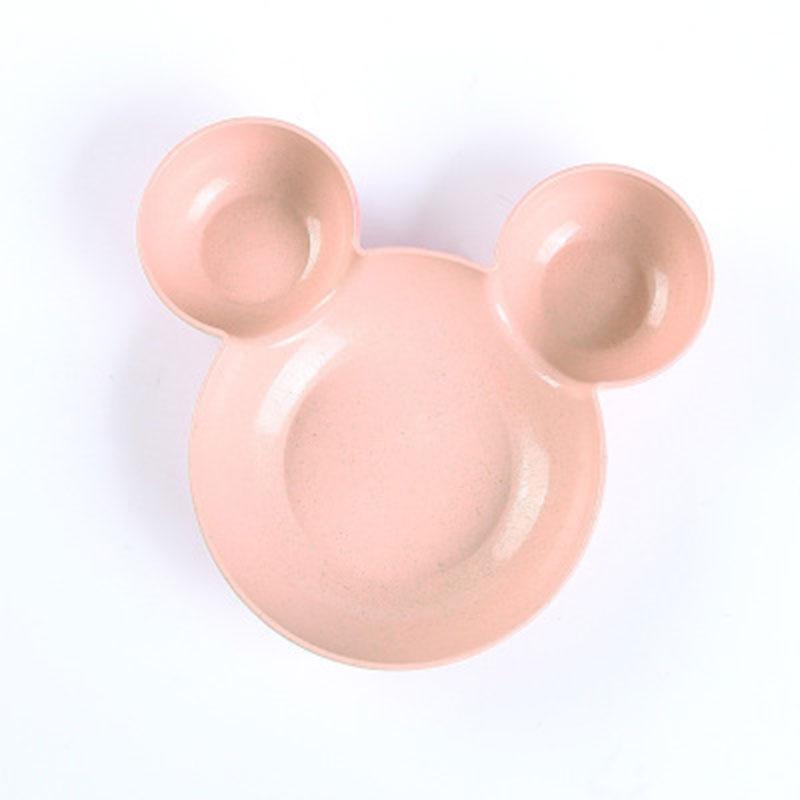 Mickey Cartoon Children Rice Bowl - Pink