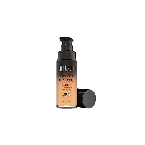 Milani Conceal + Perfect 2 In 1 Foundation + Concealer - 06A Deep Beige