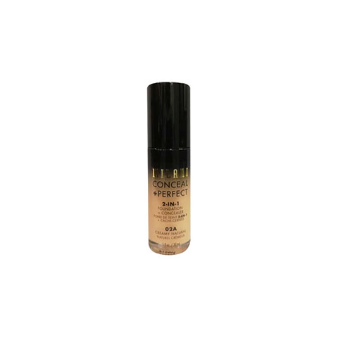 Milani Conceal + Perfect 2 In 1 Foundation + Concealer 30ml - 02A Creamy Natural