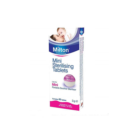 Milton Mini Sterilising Tablet 50PK (9177)