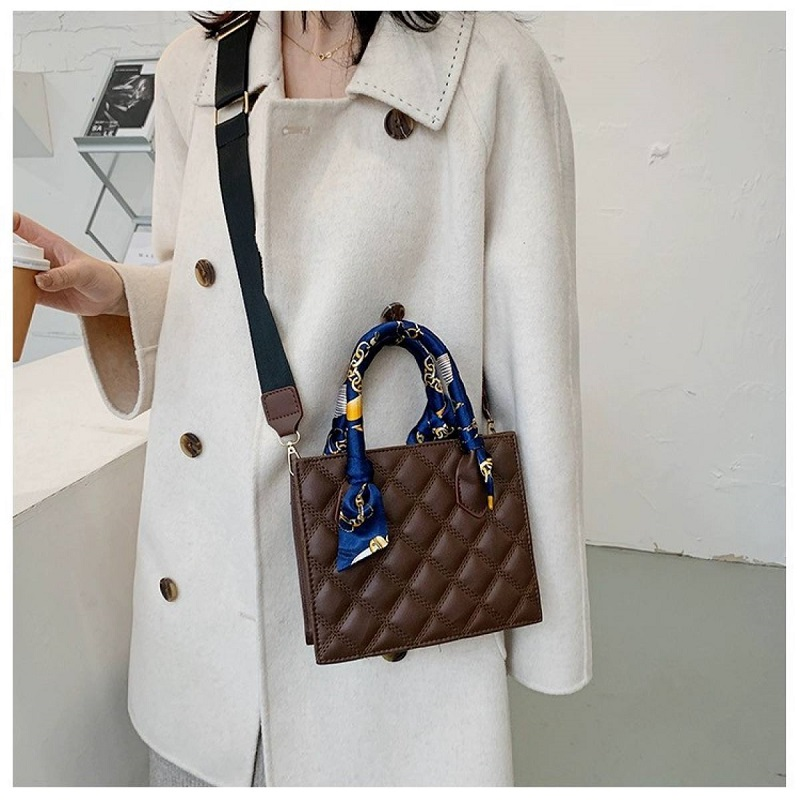 Mini Dior Style Ladies Hand Bag With Scarf (1001050)