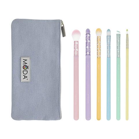 MODA Posh Pastel 7pc Delicate Eye Kit (2504)