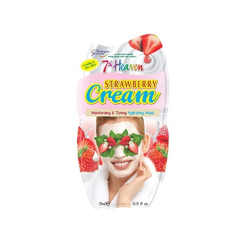 7th Heaven Montagne Jeunesse Strawberry Cream Face Mask 15ml
