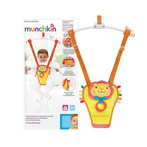 Munchkin Bounce and Play Baby Door Bouncer (2268)