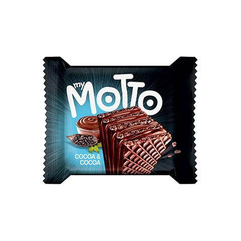 My Motto Cocoa & Cocoa Crispy Wafer Bar - 3 pack