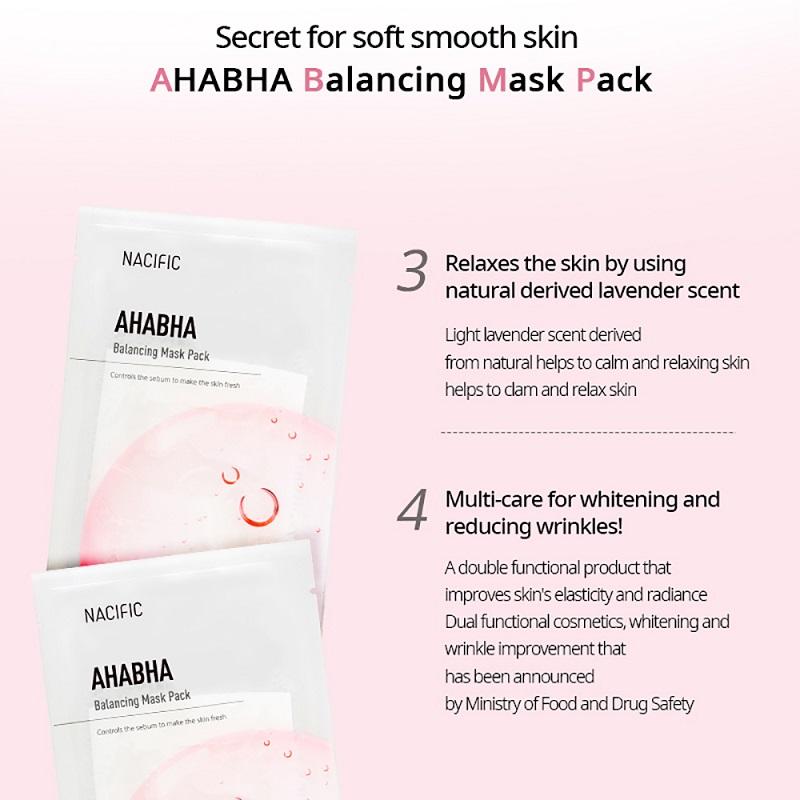Nacific AHA BHA Balancing Mask Pack 30g