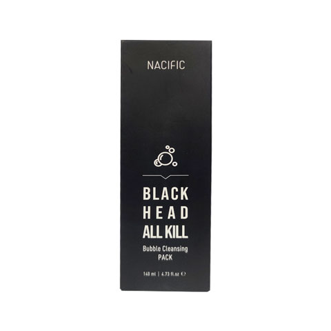 Nacific Blackhead All Kill Bubble Cleansing Pack 140ml