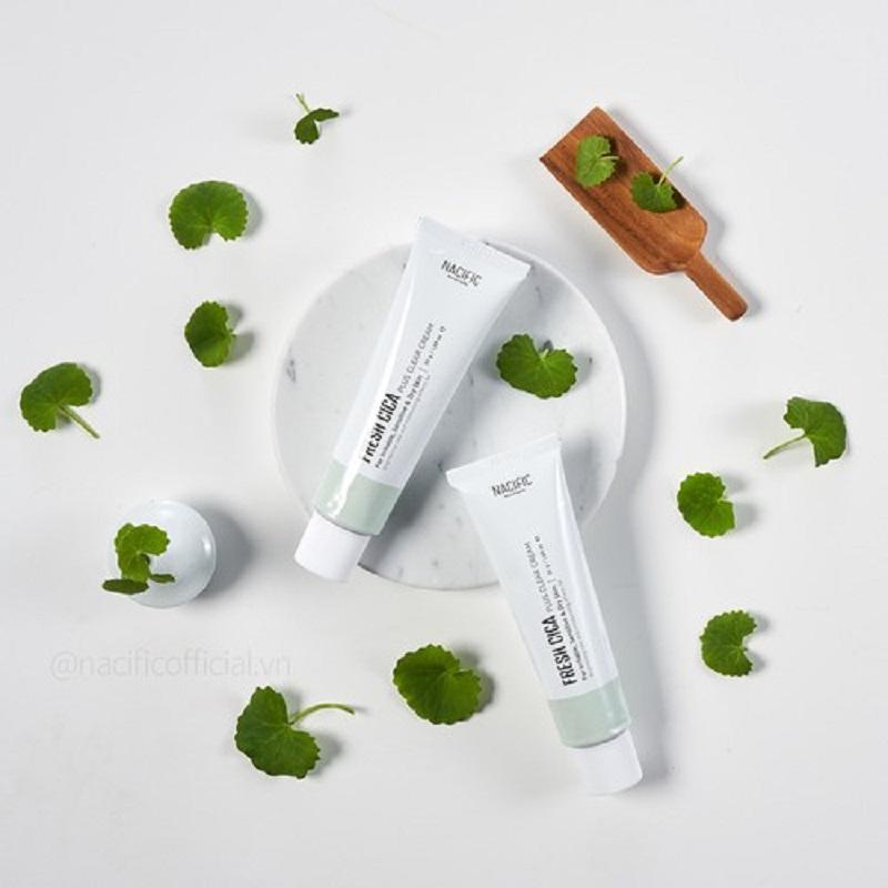 Nacific Fresh Cica Plus Clear Cream 50ml