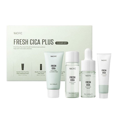 Nacific Fresh Cica Plus Clear Kit