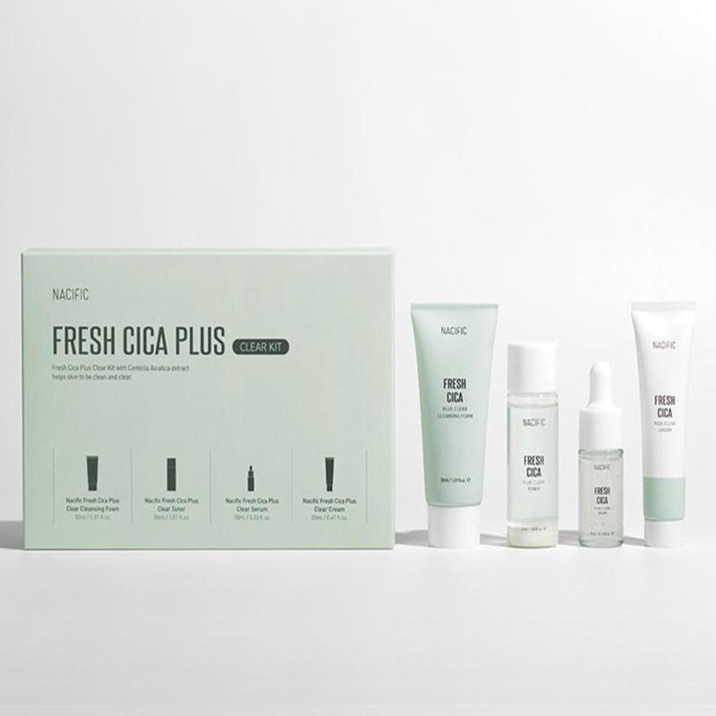 Nacific Fresh Cica Plus Clear Kit