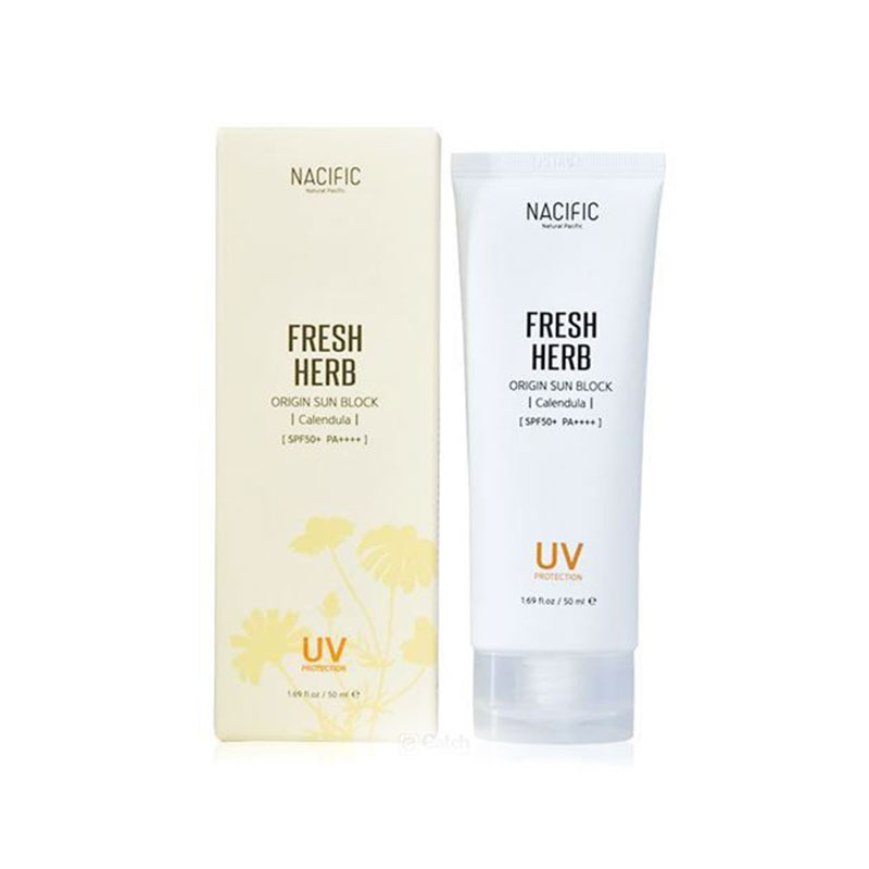 Nacific Fresh Herb Origin Sun Block SPF50+ PA++++ 50ml