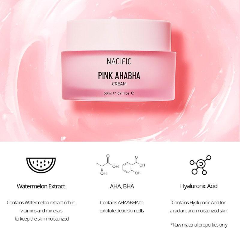 Nacific Pink AHA BHA Cream 50ml